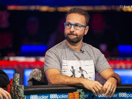 Daniel Negreanu - Photo WSOP.com