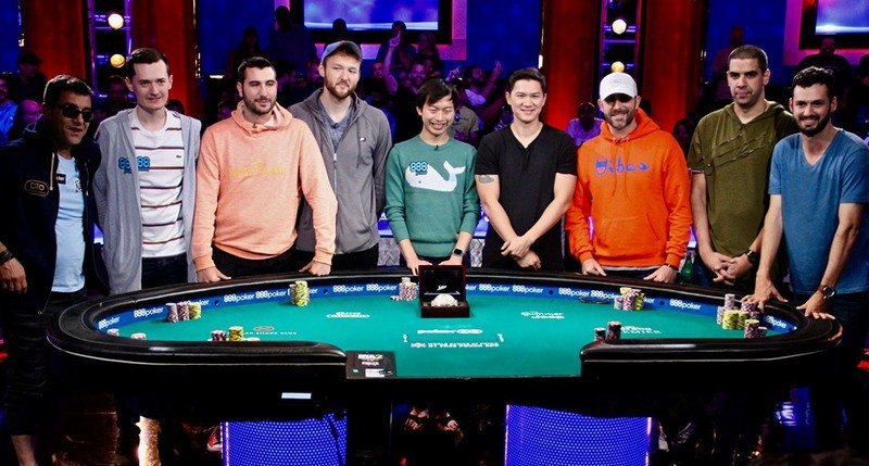 Wsop 2019 9 Players Left In The Main Event Big Chip Lead For Ensan As Sammartino Survives Somuchpoker