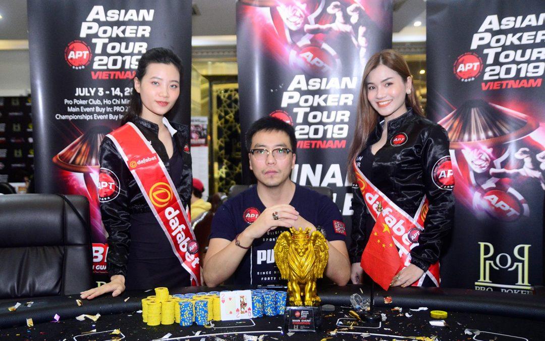 APT Vietnam 2019: Zhou Jiaping ships the Main Event; Eunho Kwon & Junwoo Oh among early winners