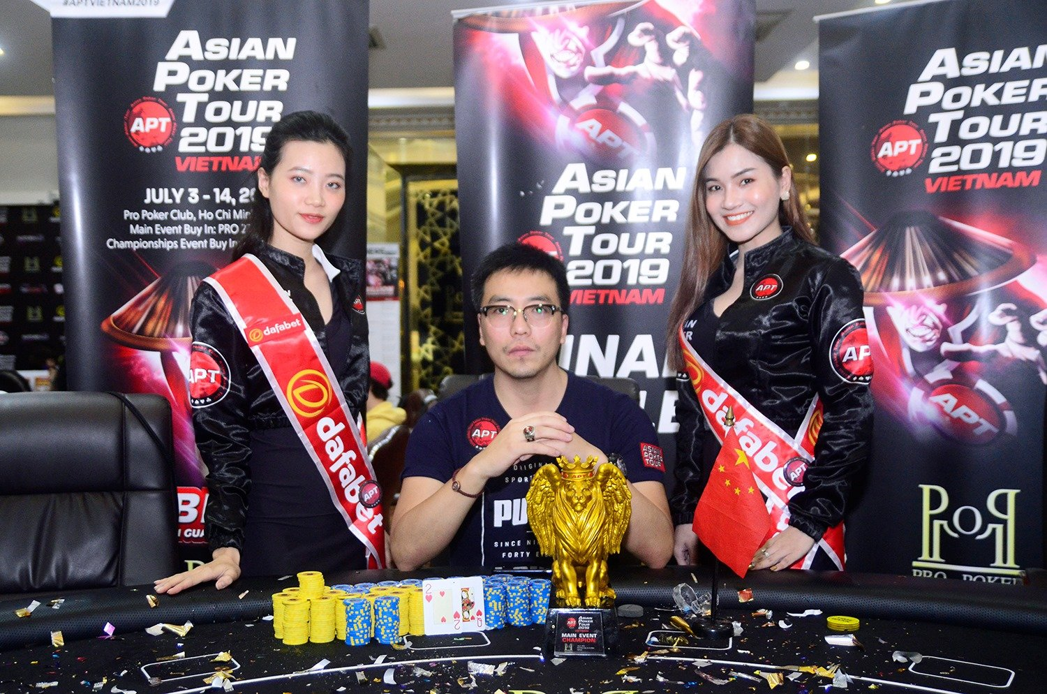 APT Vietnam 2019: Zhou Jiaping ships the Main Event; Eunho Kwon & Junwoo Oh among early winners