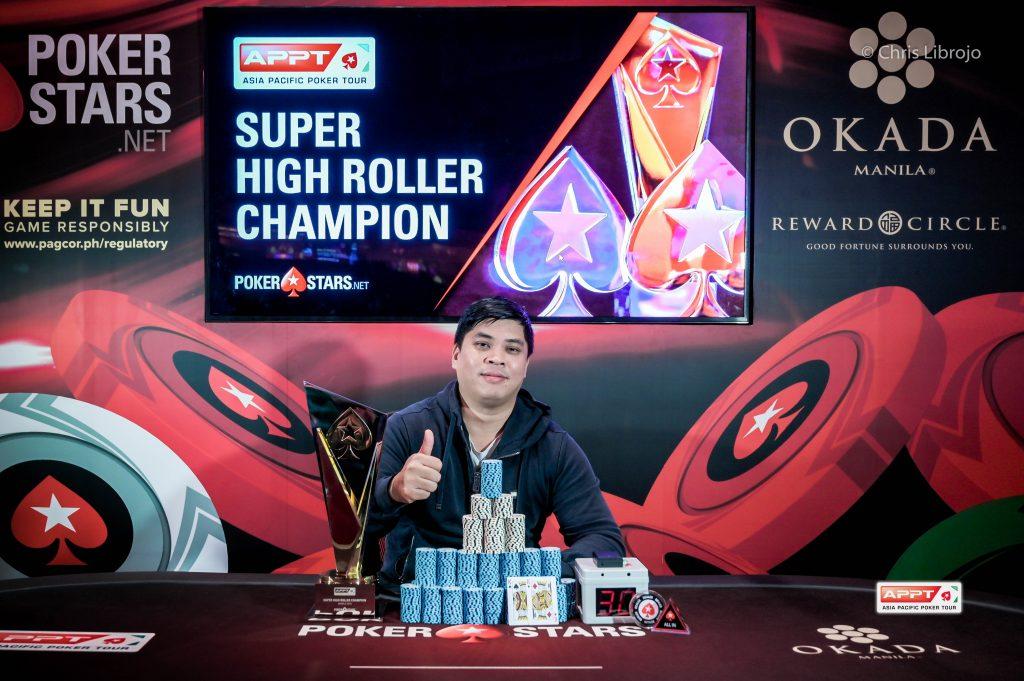 APPT Super High Roller Champion Chaofei Wang 1024x681