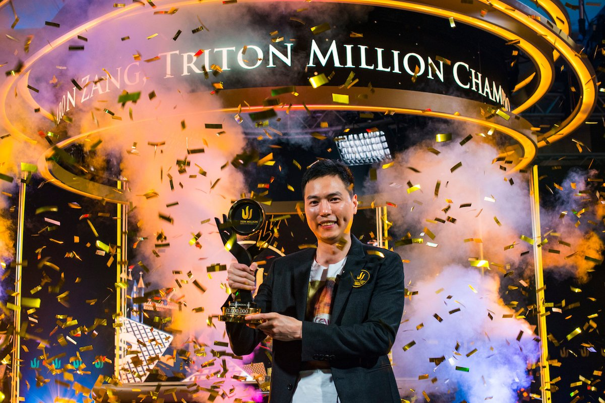 Aaron Zang wins £1M Triton London event, Bryn Kenney new leader of the All-Time Money List