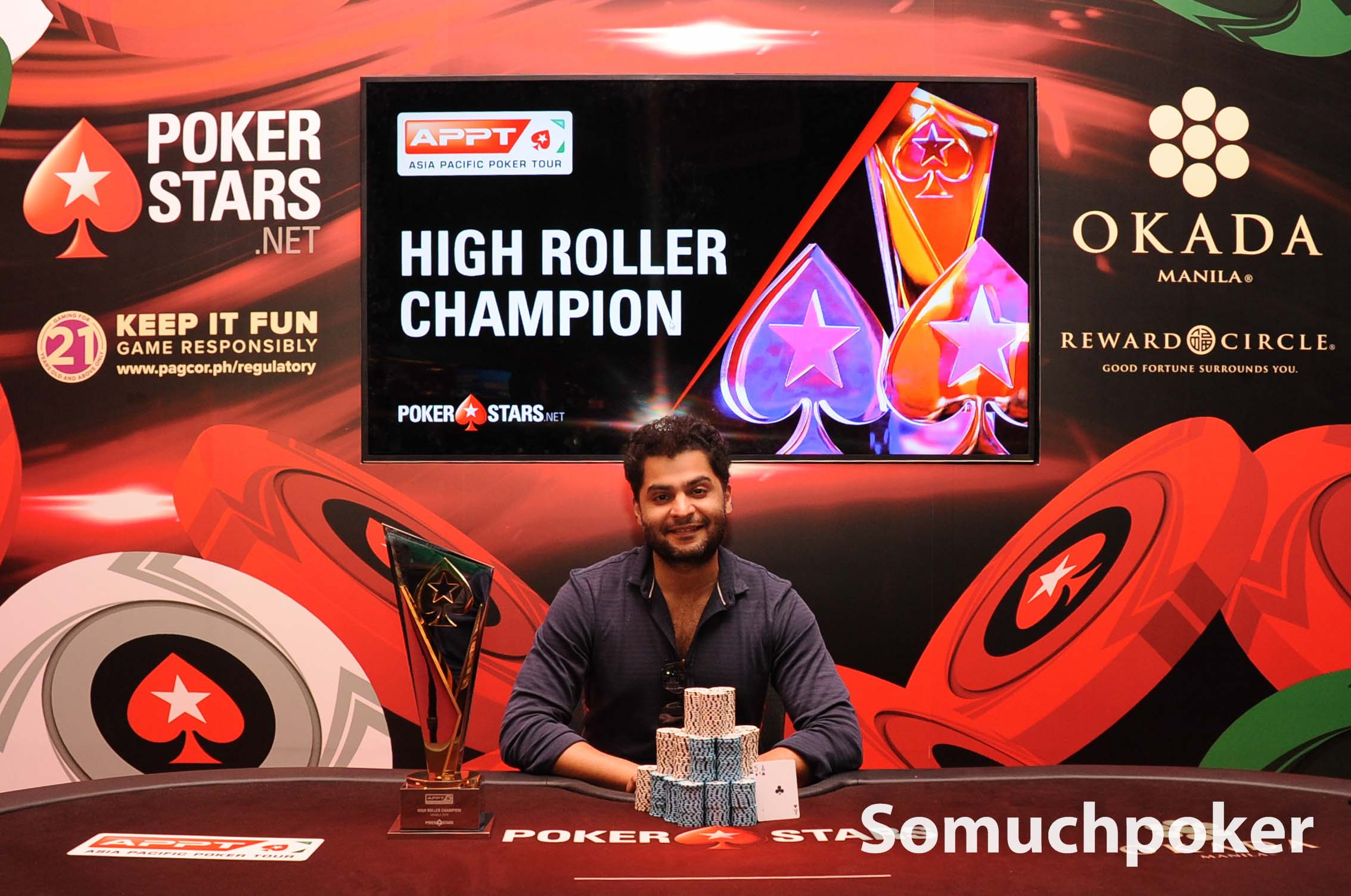 APPT Manila 2019 amasses a grand US$4M in prizes; Kanishka Samant wins High Roller