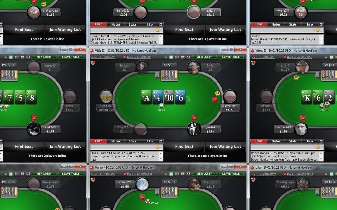 PokerStars announces multi-tabling restrictions and WCOOP schedule