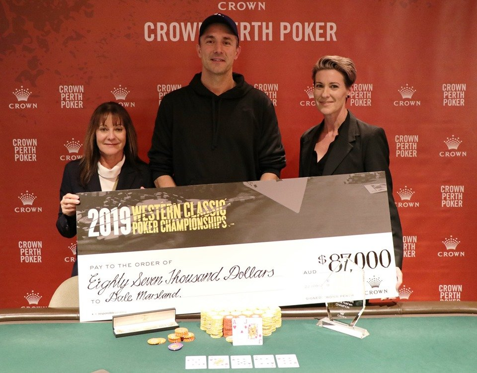 Crown Perth Western Classic; Dale Marsland wins Main Event as Kamiya and Gillet Bag a Double