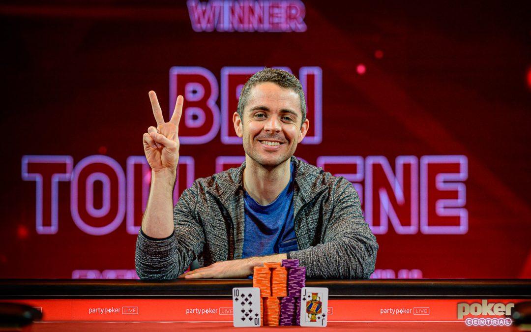 Mikita Badziakouski and Ben Tollerene win big at British Poker Open