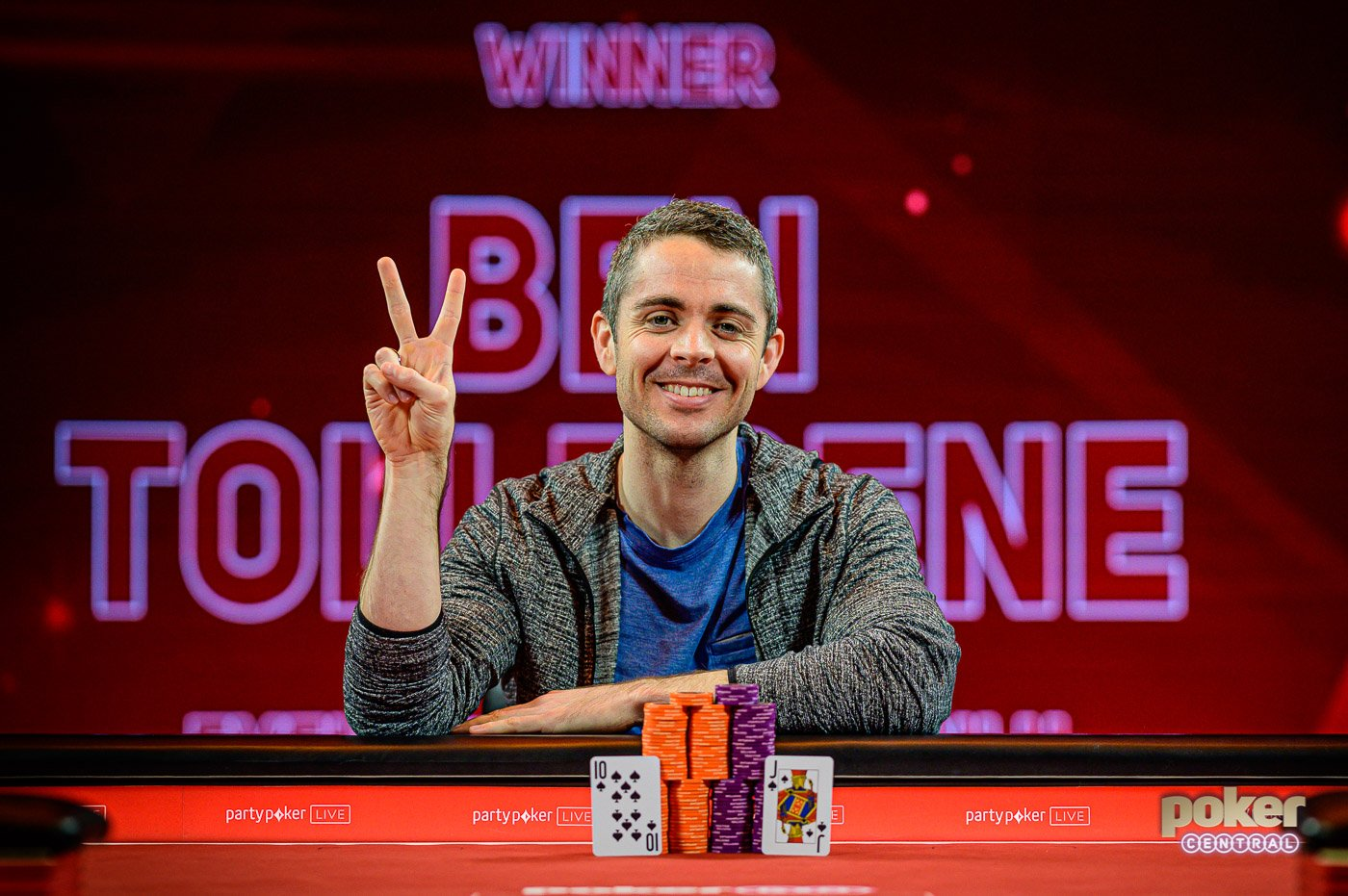 Mikita Badziakouski and Ben Tollerene win big at British Poker Open
