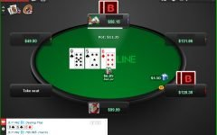 What is playing the river in poker