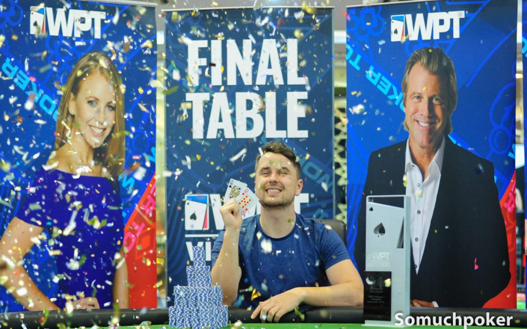 Hamish Crawshaw crushes the final day to win the WPT Vietnam Main Event