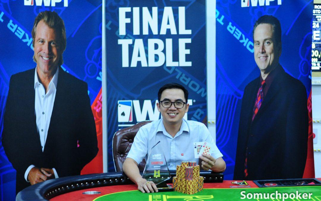 WPT Vietnam closes with Nguyen Van Dung winning High Roller 2; final results