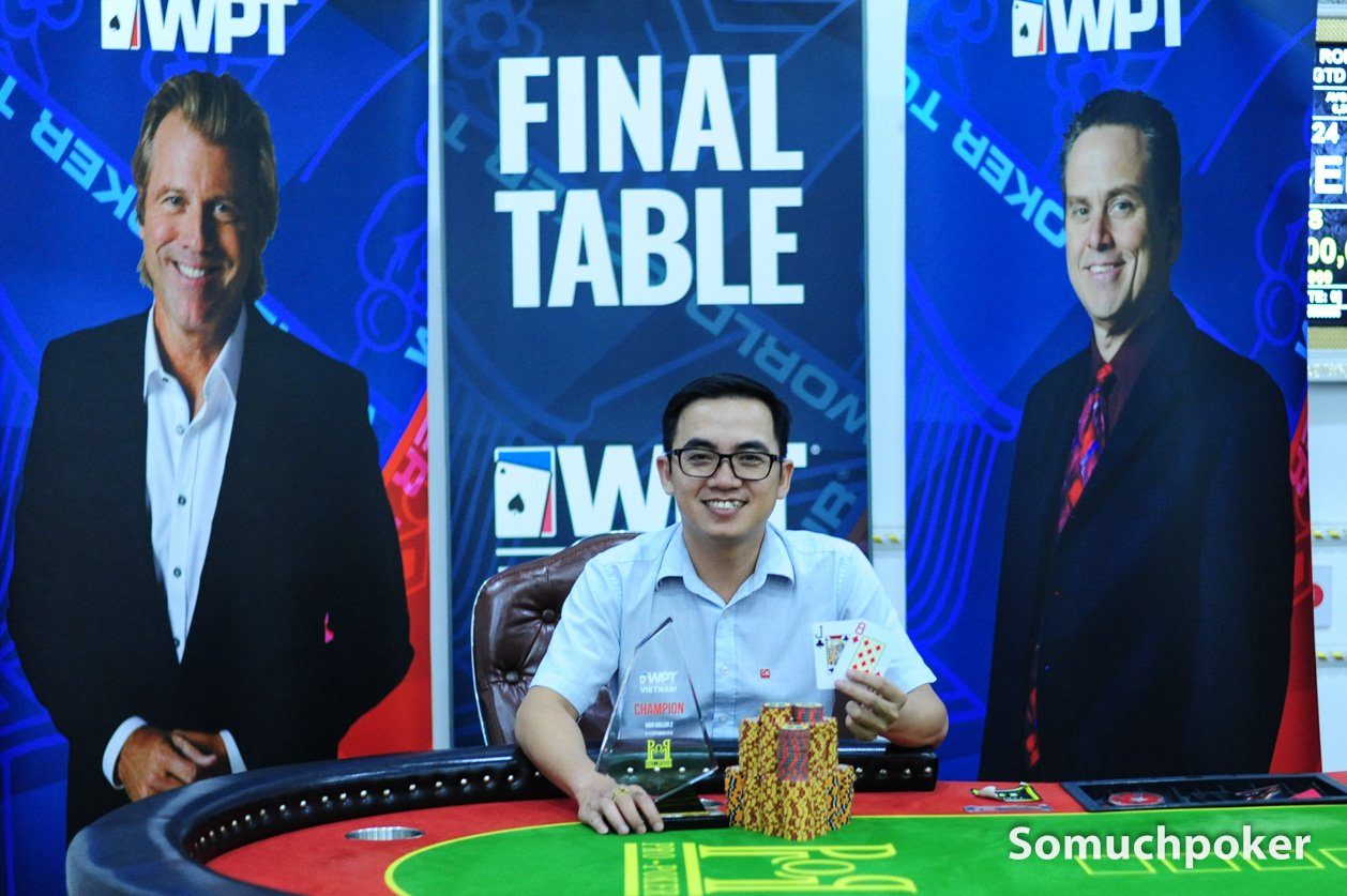 WPT Vietnam closes with Nguyen Van Dung winning High Roller 2; final results