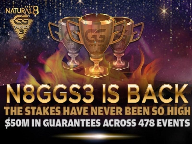 Natural8 announces GG Series 3 with $50M GTD combined with exclusive giveaways