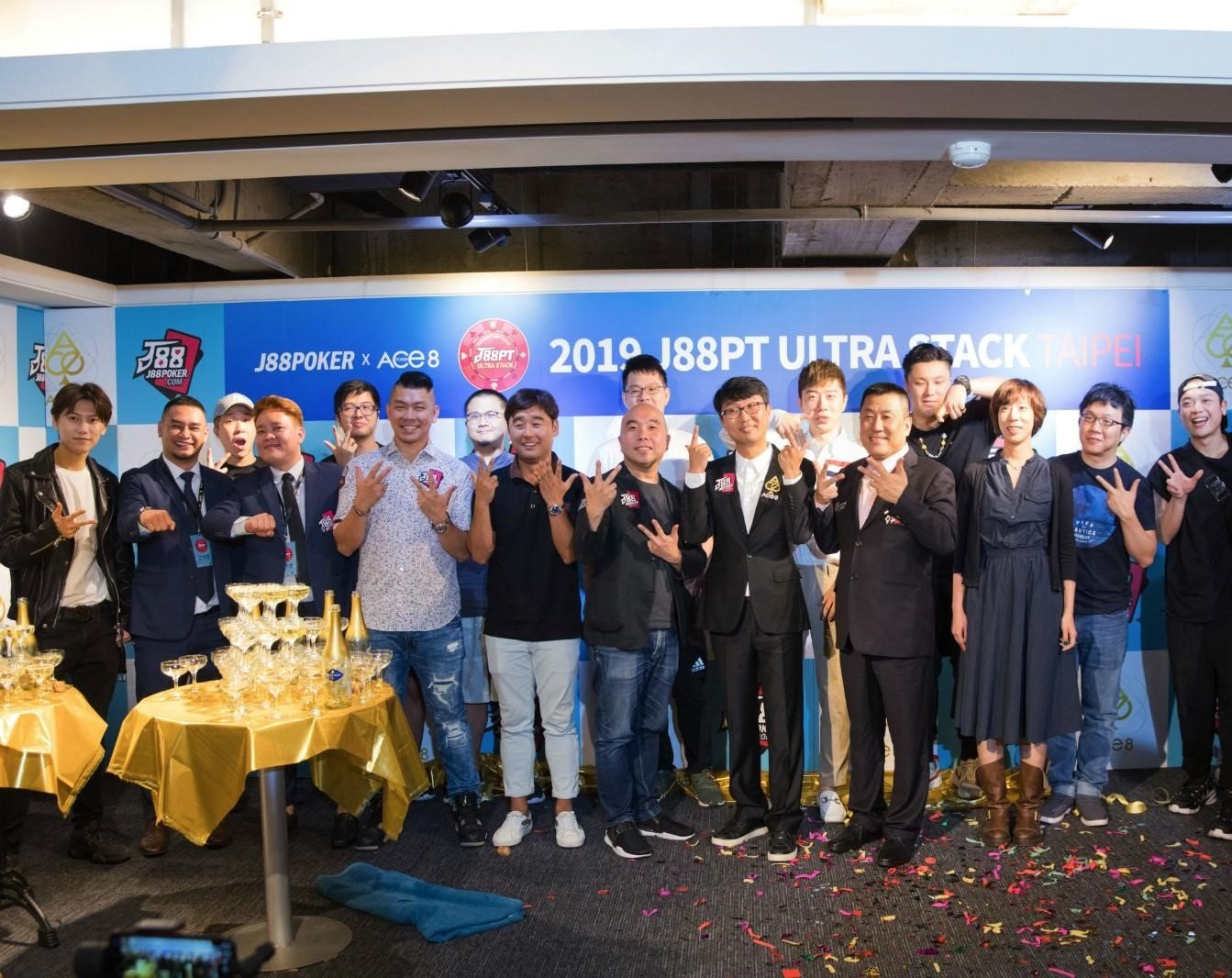 J88PT Ultra Stack tournament series kicks off in Taiwan