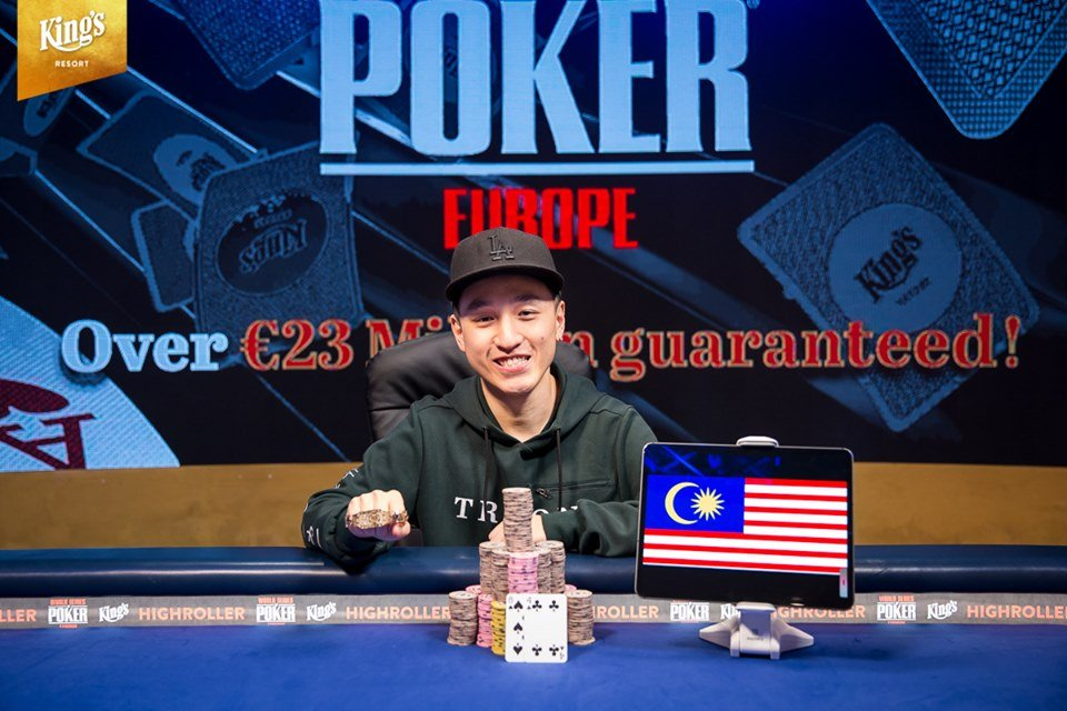 WSOPE Latest: Chin Wei Lim Wins the 100K Diamond High Roller; Negreanu edges ahead in POY