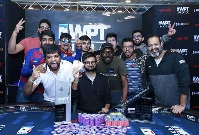 WPT India: Ashish Munot wins the Main Event; Yasheel Doddanavar wins High Roller
