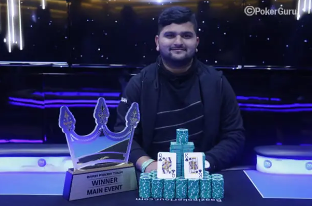 Baazi Poker Tour: Bharat Kumar takes Main Event title; Rohit Jinwal wins High Roller