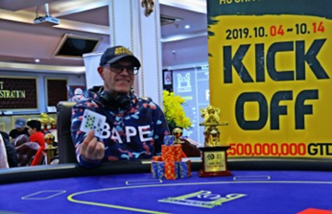 Asia Poker League HCMC: Kjell Ove Dyb wins the Kickoff; four winners crowned
