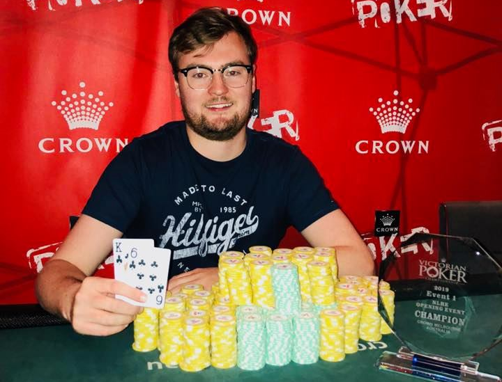 Victoria Poker Championship early highlights: Eoin McLaverty wins opening event