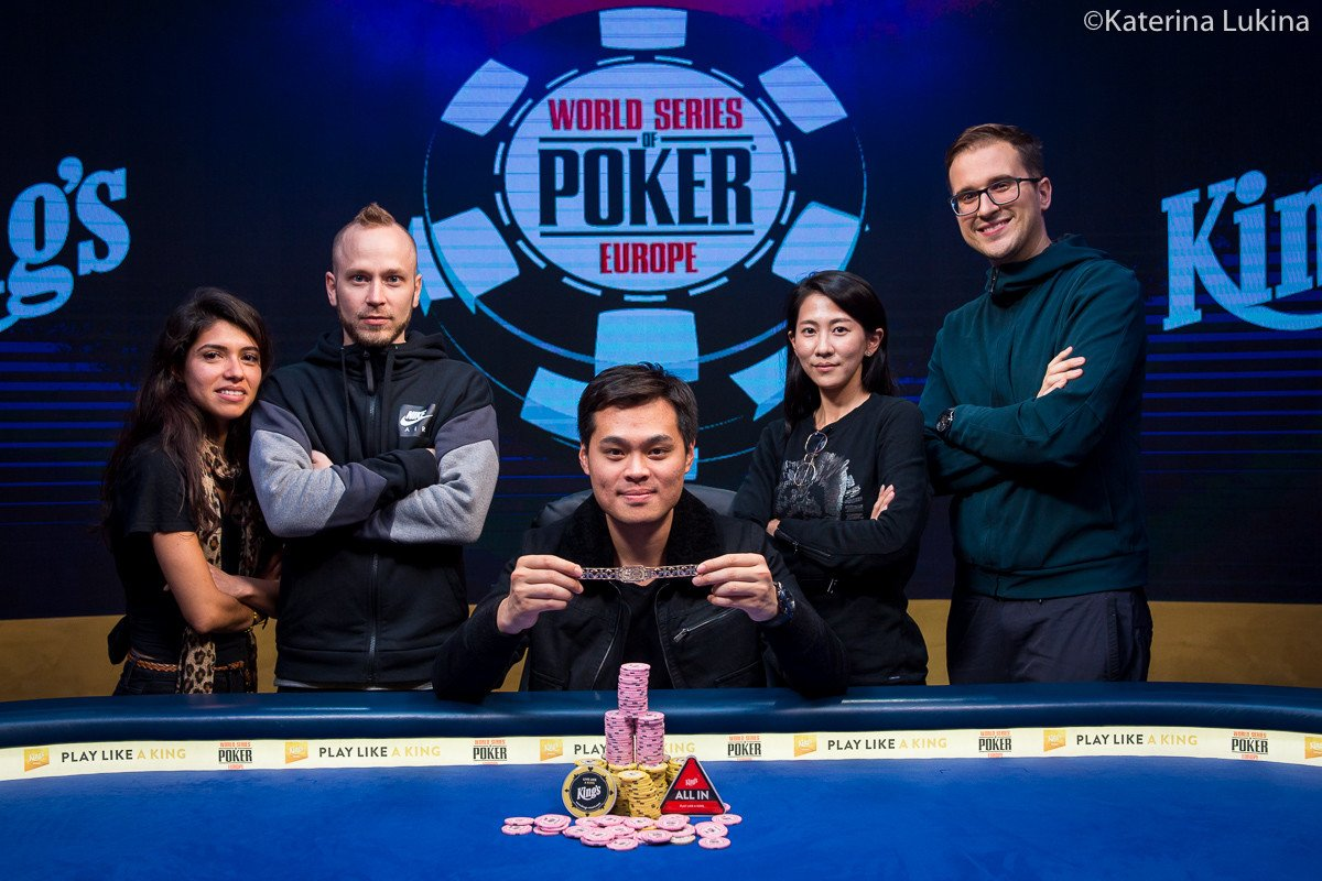 WSOPE: James Chen wins €250,000 Super High Roller title and first ever bracelet for Taiwan!