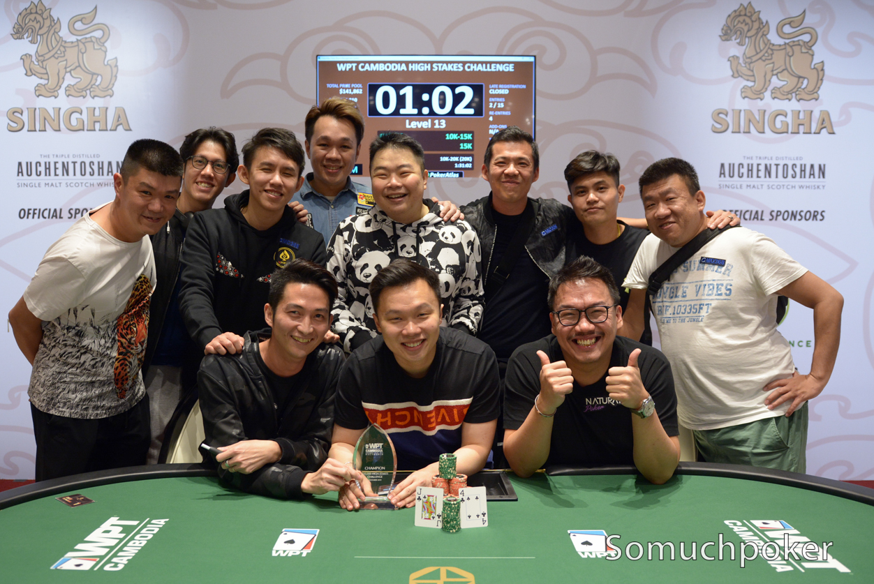 WPT Cambodia: Big payday for Piet Pape and Choon Tong Siow; Douglas Whitehead overcomes the Freezeout