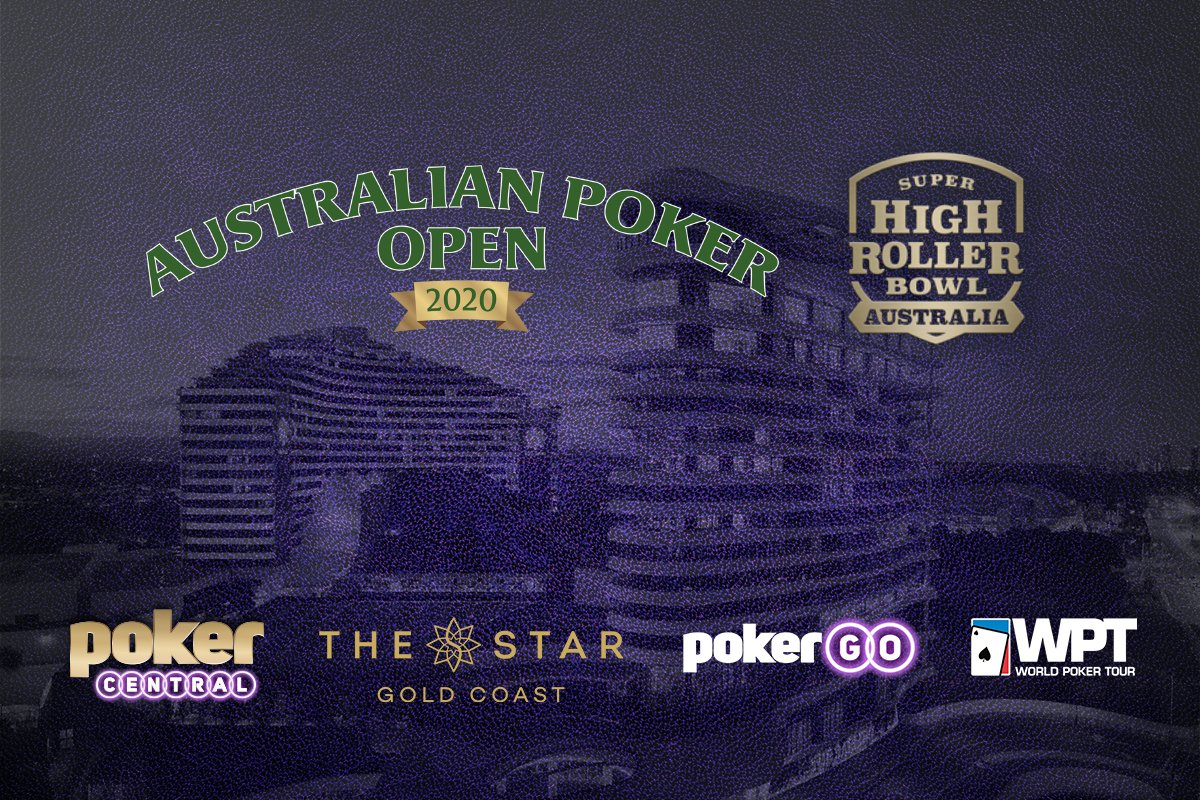 Poker Central announces Super High Roller Bowl Australia and Australian Poker Open for January 2020