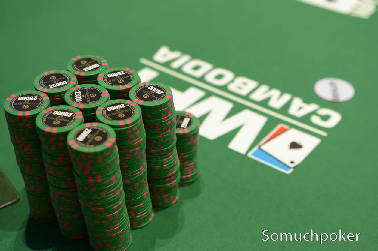 WPT Cambodia: Day 2 Chip Counts and Seat Draw