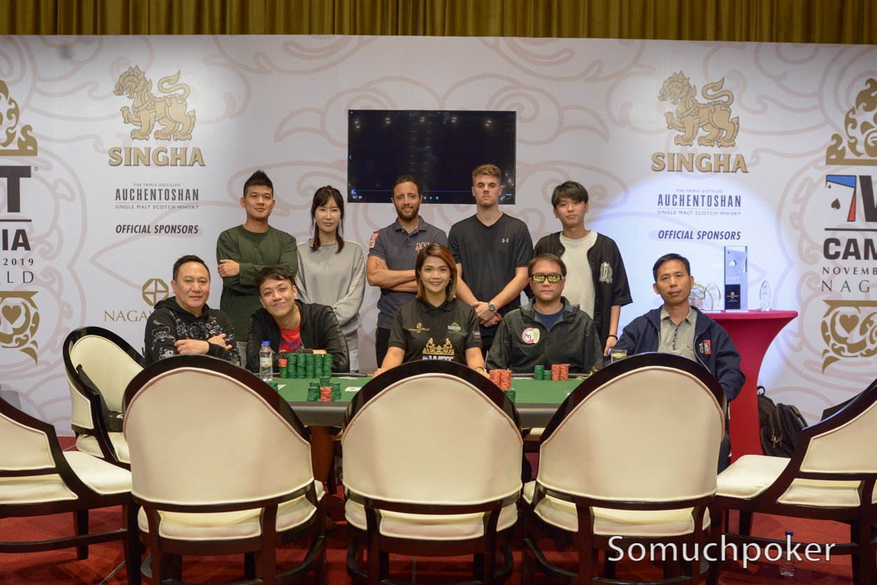 WPT Cambodia Season XVIII – Live Updates – Final Table