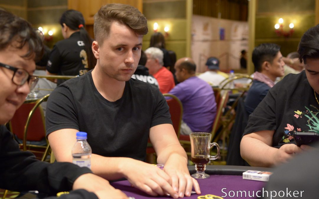 Player of the Year race leaders and past champions in action at WPT Cambodia