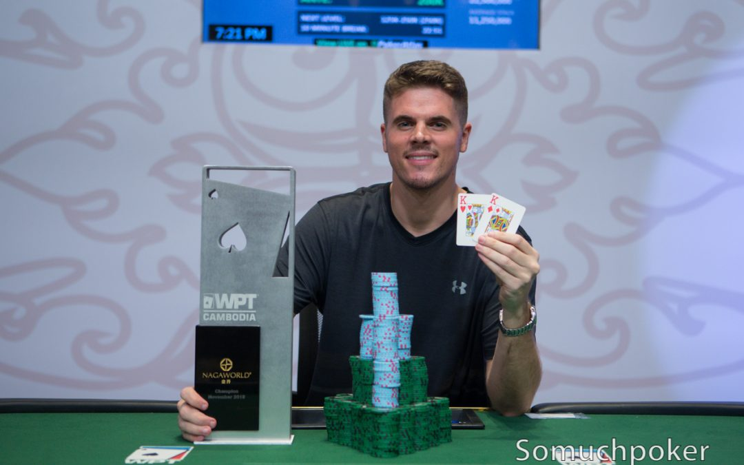 Brian Tougias clinches WPT Cambodia Main Event for US$131,430