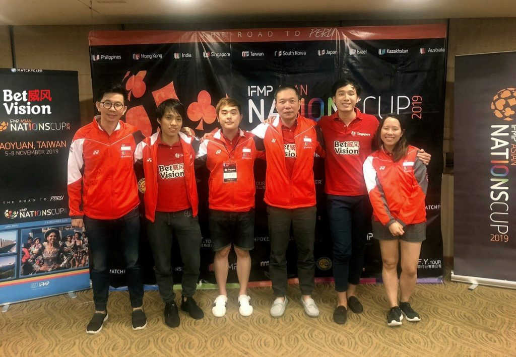 Team Singapore Sponsored By BetVision 1024x709