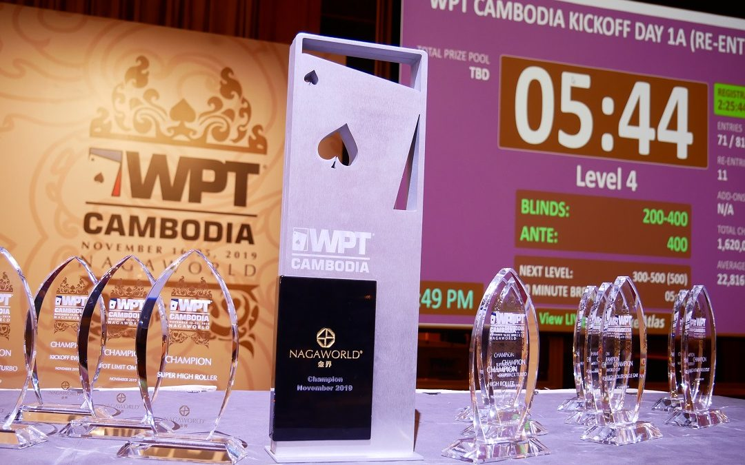 World Poker Tour kicks off at Nagaworld in Phnom Penh, Cambodia