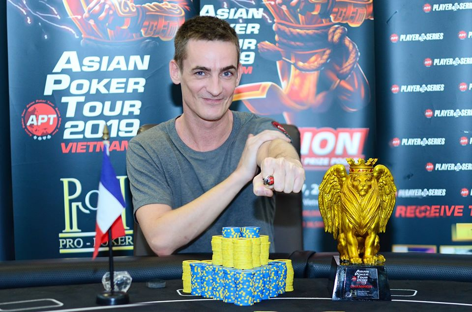 Vincent Chauve wins APT Vietnam Championships Event & Player of the Series; final side event winners