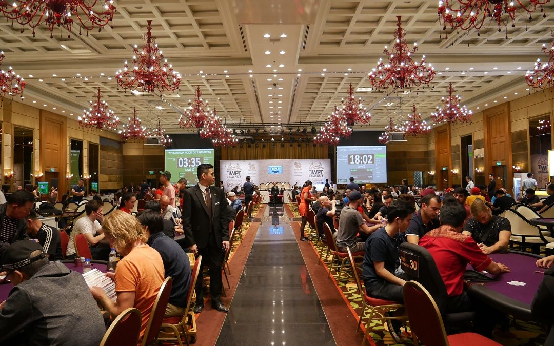 WPT Cambodia : 212 players enter the Kickoff event, Keith Ong chip leader