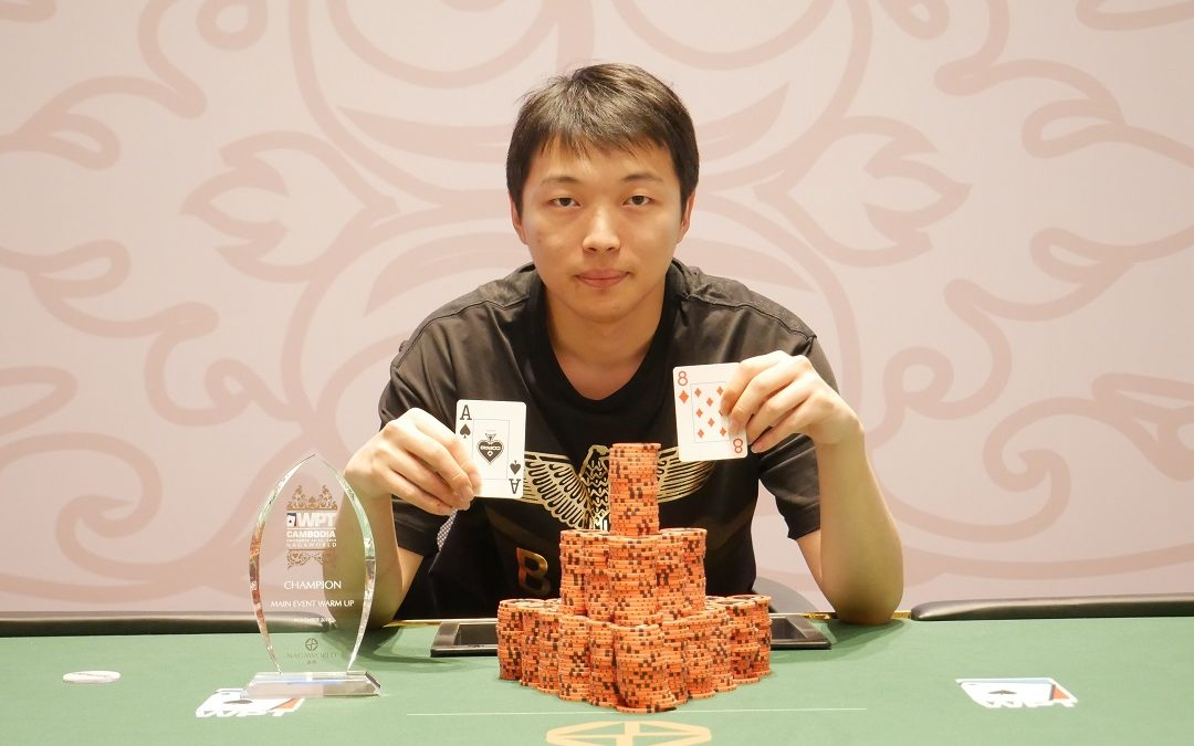Jianfeng Sun wins WPT Cambodia Warm Up, Yinfei Xiao leads the Nagaworld Cup