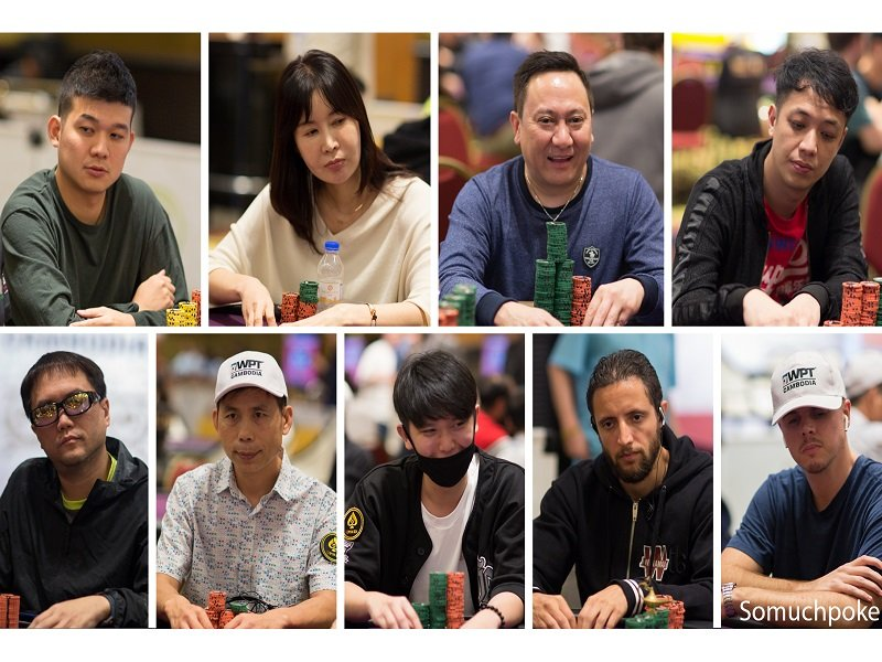 Meet the Final 9 of the record-breaking WPT Cambodia Main Event