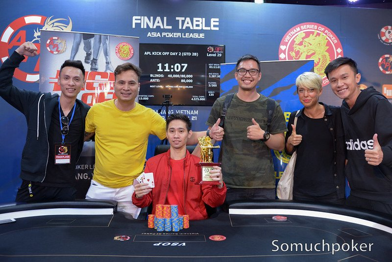 APL Da Nang: Cards in the Air in the Main Event, Nguyen Hoang Linh wins Kick off