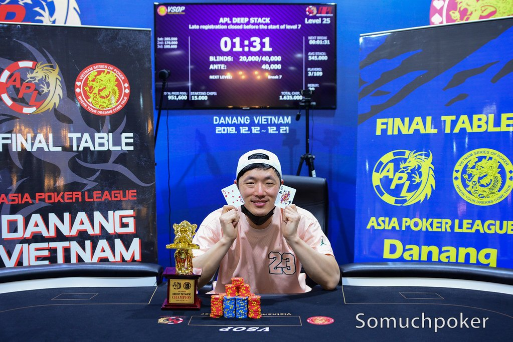 APL Da Nang:  Im Sung Gok wins Deep Stack; Lin Jian on top of  the Main Event chip counts