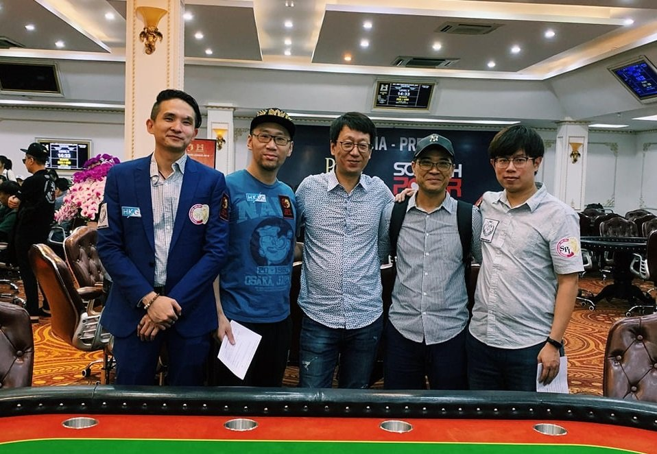 """Asia Poker League holds its year end finale in Vietnam, presents """"Ambassadors Team"""""""