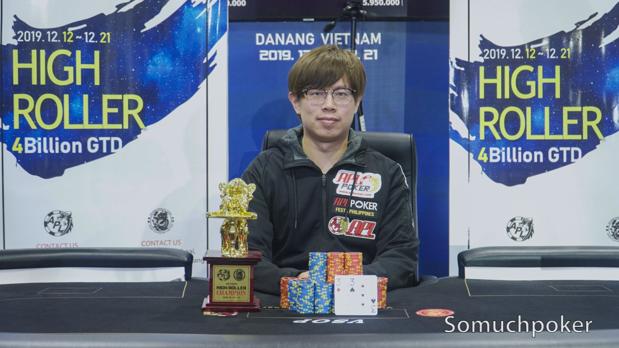 APL Da Nang closes with brand ambassador Jack En Ching Wu seizing the High Roller title