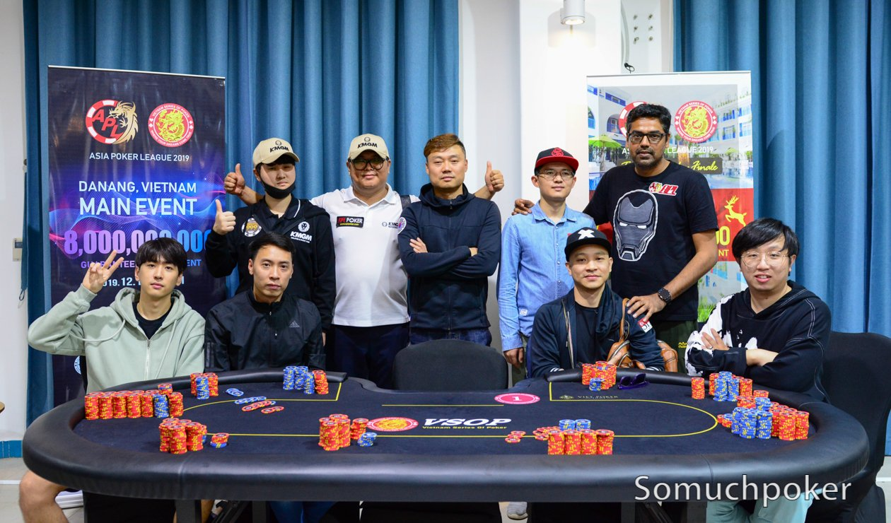 APL Da Nang Main Event: Meet the Final 9 players