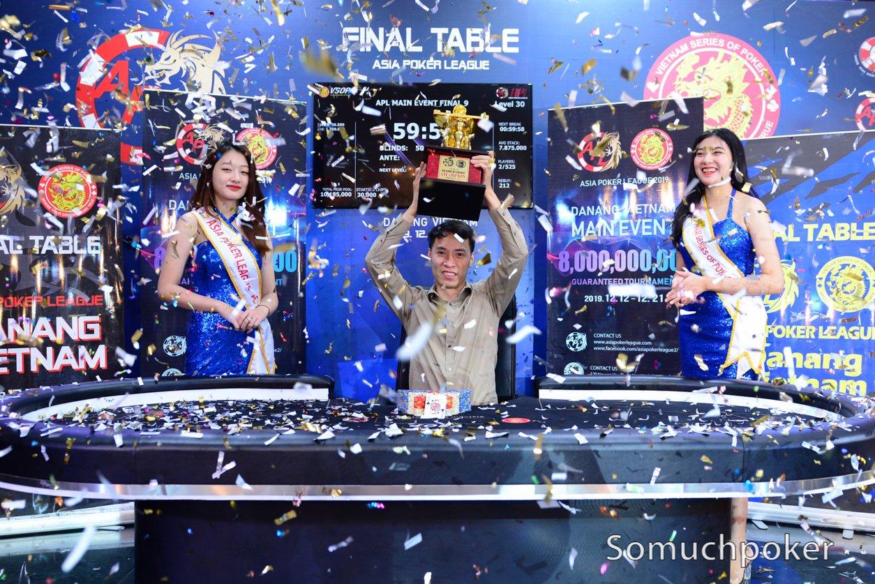 Nguyen Minh Tuan clinches inaugural APL Da Nang Main Event
