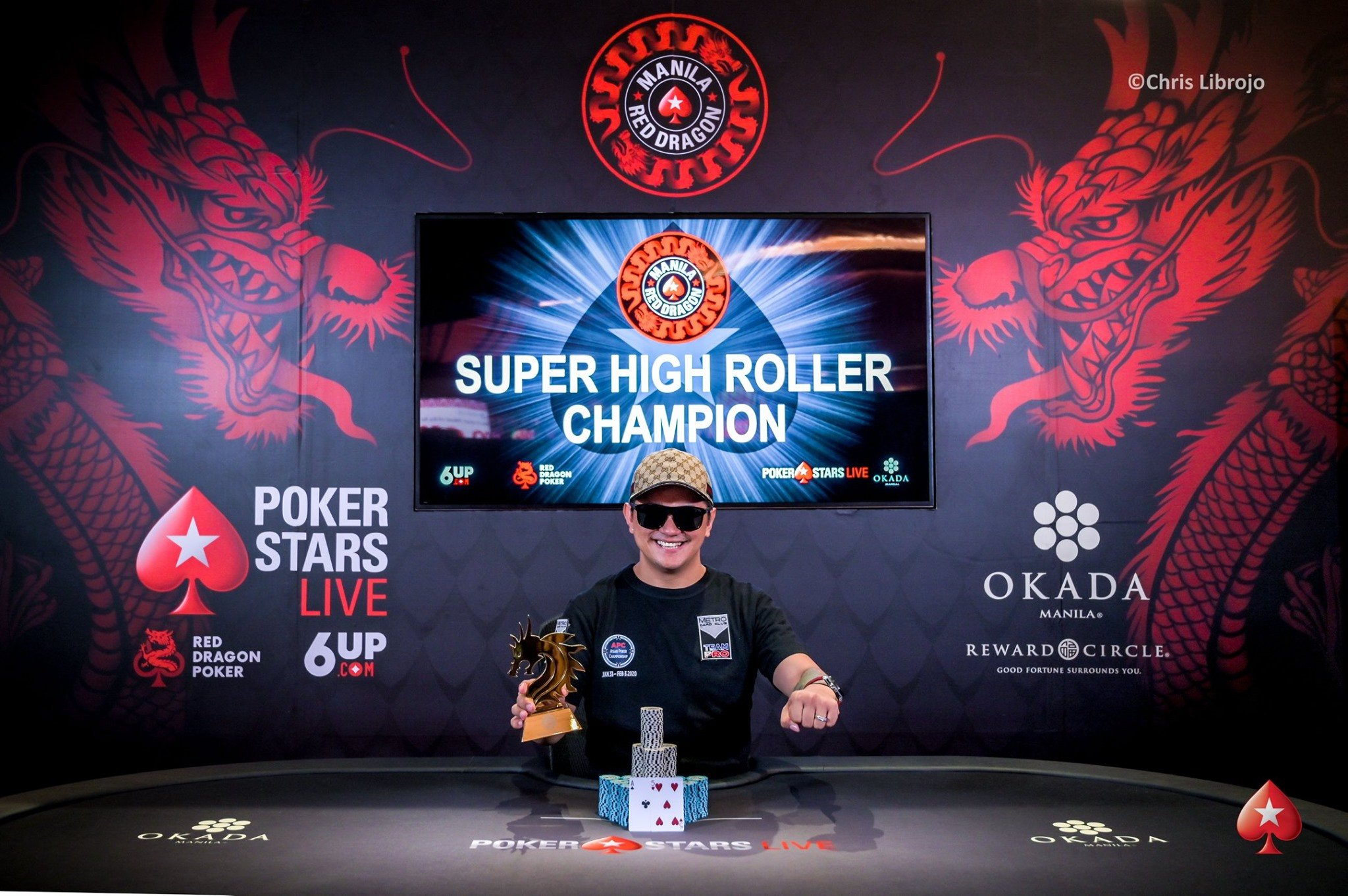 Red dragon Manila: Lester Edoc takes down Super High Roller for US$102,125; Sahil Agarwal wins Kickoff