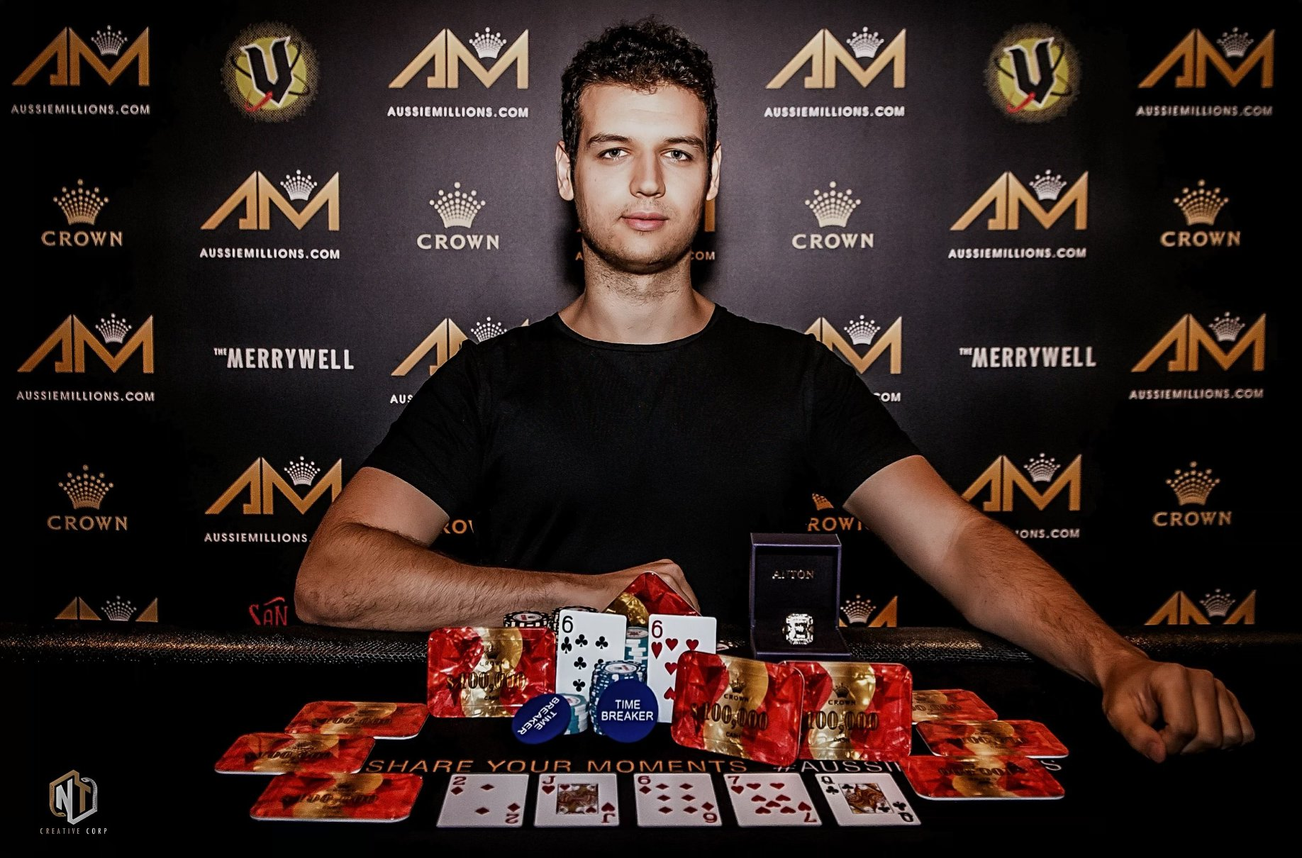 Stellar first half of 2020 for Australia's Michael Addamo in the High Roller circuit