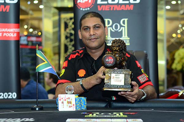 APT Kick-off Vietnam: Rayhaan Adam ships first APT Main Event of 2020; Yohwan Lim, Vincent Li, & Lu Zheng Hao win trophies