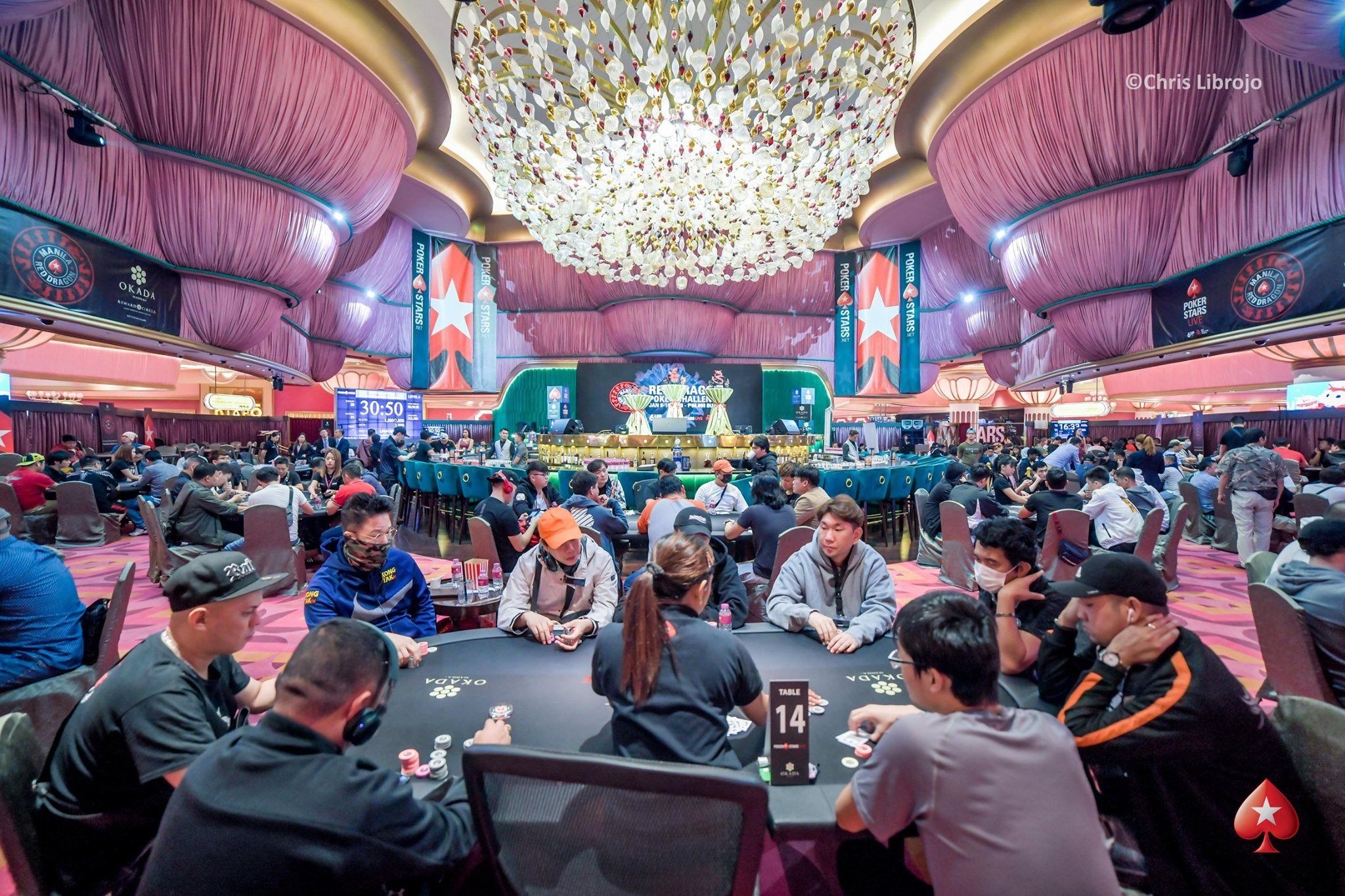 Red Dragon Manila: 669 entries in the Main Event; Hwany Lee chip leader; Campomanes wins Platinum Pass