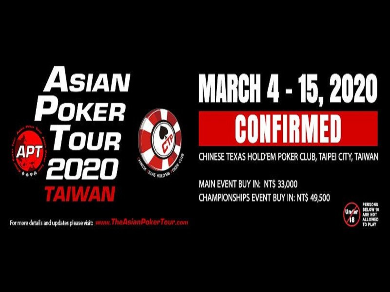 Covid-19: Asia Poker Tour reconfirm events in Taiwan and Vietnam; General context remains difficult