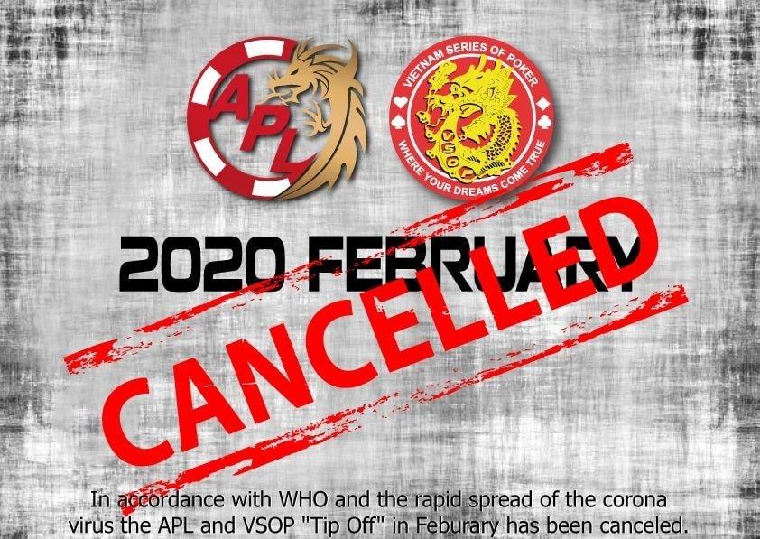 Coronavirus: APL Danang cancelled