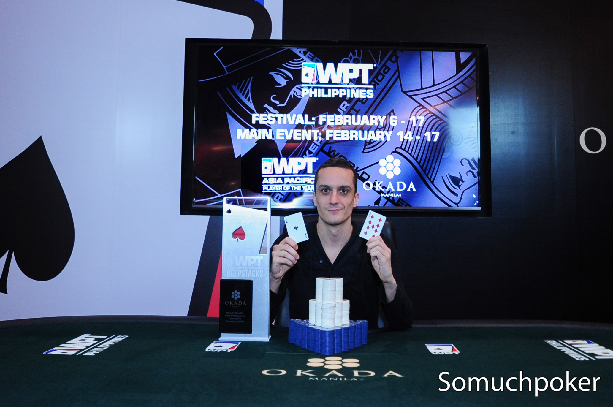 Bulgaria's Dimitar Blazhev wins WPT Philippines Main Event for his first major live title