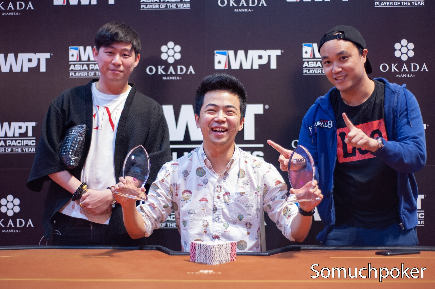 WPT Philippines: final side event winners; Pete Chen becomes only player to win two