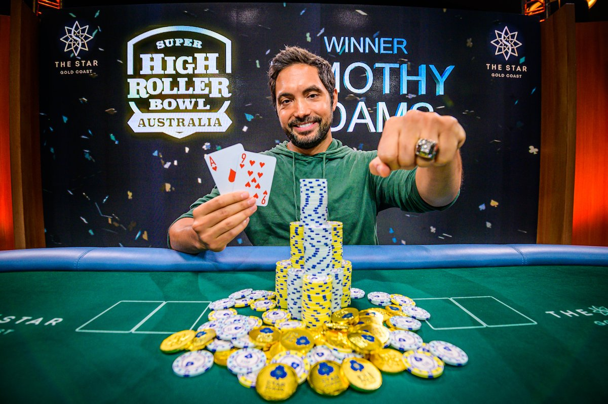 Timothy Adams wins SHRB for AU$2M; Stephen Chidwick wins APO Championship as Michael Addamo wins the Main Event